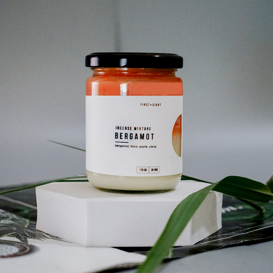Nến 2 Tầng Incense Mixture Fragrant Bergamot