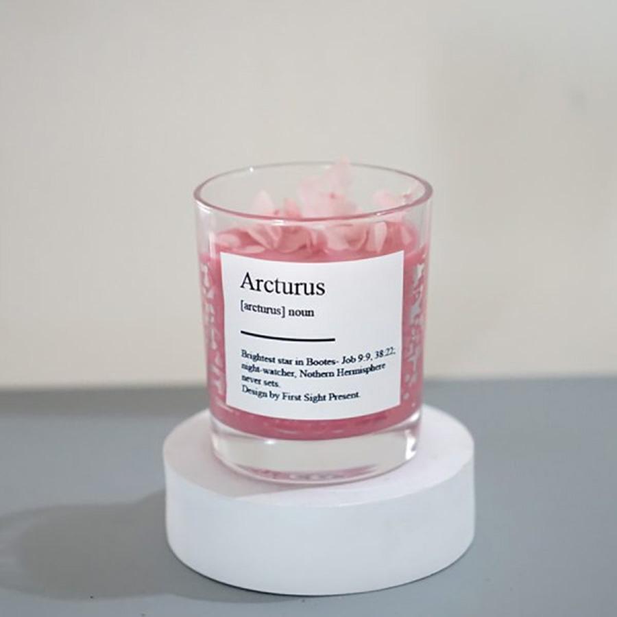 Nến Thơm Star Collect Arcturus hương Bạc Hà - Chanh - Xả